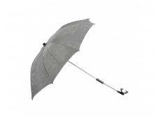 Dubatti vežimėliui skirtas skėtis Grey Melange