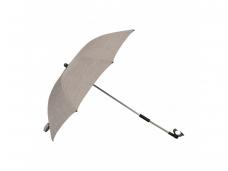 Dubatti vežimėliui skirtas skėtis Taupe Melange