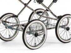 Emmaljunga Modial de Luxe / Edge / duo City / duo Combi 4 ratų su ratlankiais ir padangomis komplektas