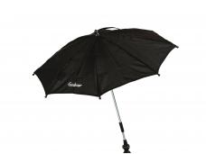 Emmaljunga vežimėlio skėtis Outdoor Black Eco
