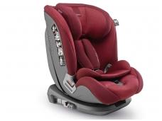 Inglesina newton 1.2.3 IFIX automobilinė kėdutė 9 -36 kg red su baze