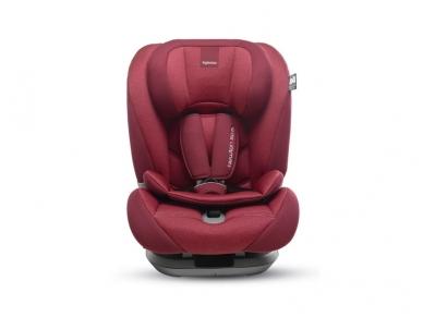 Inglesina newton 1.2.3 IFIX automobilinė kėdutė 9 -36 kg red su baze 2