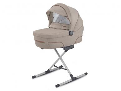 Inglesina stovas skirtas universaliam vežimėliui, lopšiui, automobilinei kėdutei įtvirtinti 3