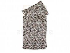 Jollein antklodės ir pagalvės užvalkalų komplektas Leopard Natural 100x140 cm