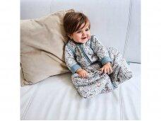 Jollein kūdikio miegmaišis su nusegamomis rankovėmis BLOOM 110cm