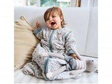 Jollein kūdikio miegmaišis su nusegamomis rankovėmis BLOOM 90cm