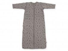 Jollein kūdikio miegmaišis su nusegamomis rankovėmis SPOT Storm Grey 70cm
