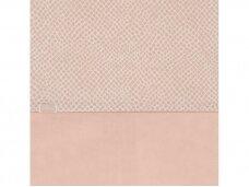Jollein užklotas anklodei Gyvatė Pale Pink 100x135 cm.
