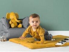Jollein žaidimų kilimėlis Brick Velvet 80x100 cm. Mustard