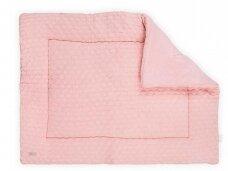 Jollein žaidimų kilimėlis Fancy Knit 80x100 cm. Blush Pink