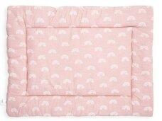 Jollein žaidimų kilimėlis Rainbow 80x100 cm.Blush Pink