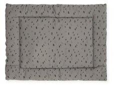 Jollein žaidimų kilimėlis Spot 80x100 cm. Storm Grey
