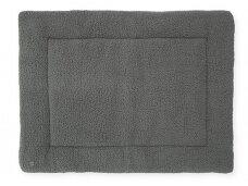 Jollein žaidimų kilimėlis Teddy Storm Grey 80x 100 cm.