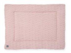 Jollein žaidimų kilimėlis River Knit 80x100 cm. Pale Pink