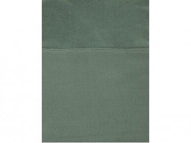 Jollein Basic Knit ASH Green vokelis automobilinei  kėdutei, lopšiukui 5