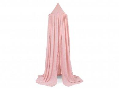 Jollein lovytės baldakimas Blush Pink 245cm