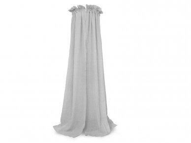 Jollein lovytės baldakimas Soft Grey 155cm