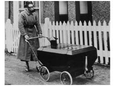 Ar žinote vežimėlių atsiradimo istoriją?