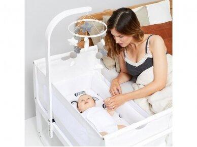 Snuz Baby Mobile karuselė Rose White 2