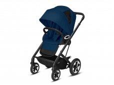 Sportinis vežimėlis Cybex Talos S Lux pushchair Navy Blue, Black frame