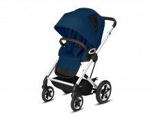 Sportinis vežimėlis Cybex Talos S Lux pushchair Navy Blue,Silver frame