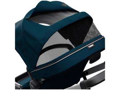 Universalus vežimėlis pametinukams Thule Sleek 2in1 Energy red 4