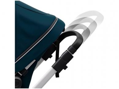 Universalus vežimėlis pametinukams Thule Sleek 2in1 Energy red 5