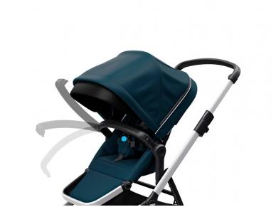 Universalus vežimėlis pametinukams Thule Sleek 2in1 Energy red 6
