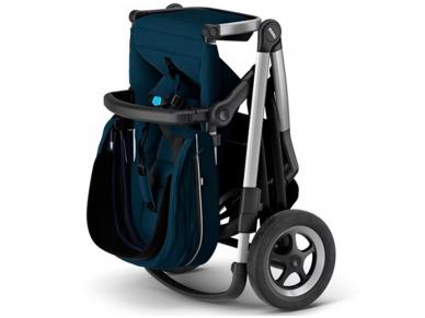 Universalus vežimėlis pametinukams Thule Sleek 2in1 Energy red 7
