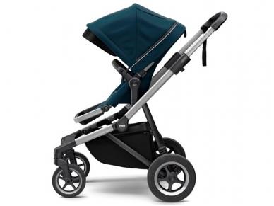 Universalus vežimėlis pametinukams Thule Sleek 2in1 Energy red 8