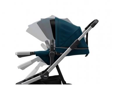 Universalus vežimėlis pametinukams Thule Sleek 2in1 Energy red 9