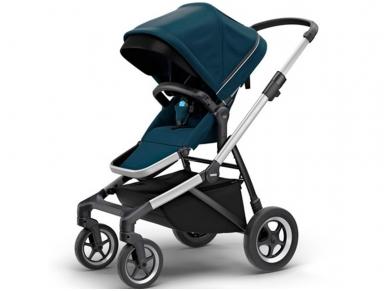 Universalus vežimėlis pametinukams Thule Sleek 2in1 Energy red 3