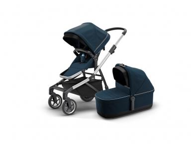 Universalus vežimėlis pametinukams Thule Sleek 2in1 Energy red 10