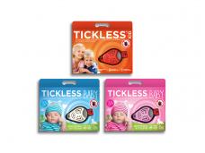 Tickless ultragarsinė apsauga nuo erkių kūdikiams ir vaikams