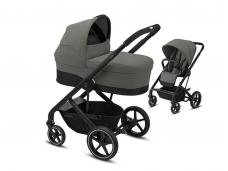 Universalus vežimėlio komplektas 2in1 Cybex Balios S Lux Soho Grey / Black
