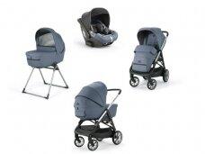 Universalus vežimėlio komplektas Inglesina Aptica 4in1 Alaska Blue