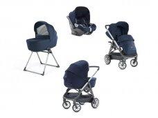 Universalus vežimėlio komplektas Inglesina Aptica 4in1 Portland Blue
