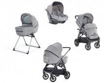 Universalus vežimėlio komplektas Inglesina Aptica 4in1 Silk Grey