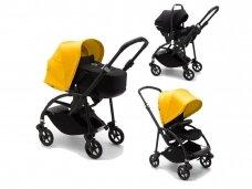 Universalus vežimėlis 3in1 Bugaboo BEE 6 Black / Black / Yelow
