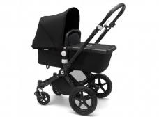 Universalus vežimėlis Bugaboo Cameleon 3 PLUS V2 BLACK/BLACK-BLACK