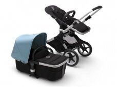 Universalus vežimėlis Bugaboo Fox 2 alu/ black / vapor blue
