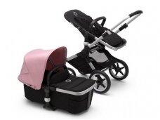 Universalus vežimėlis Bugaboo Fox 2 alu/ black / soft pink