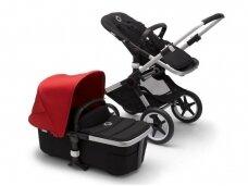 Universalus vežimėlis Bugaboo Fox 2 alu/ black / red