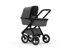 Universalus vežimėlis Dubatti 2in1 Black/Melange Grey/Melange Grey EXPO