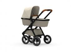 Universalus vežimėlis Dubatti 2in1 Black/Melange Taupe/Melange Sand