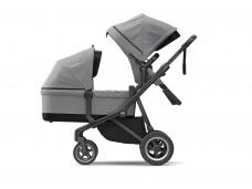Universalus vežimėlis pametinukams Thule Sleek 2in1 Grey Melange