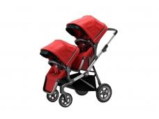 Universalus vežimėlis pametinukams Thule Sleek 2in1 Energy red