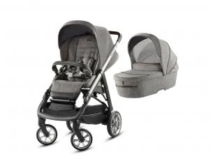 Universalus vežimėlis 2in1 Inglesina Aptica Mineral Grey