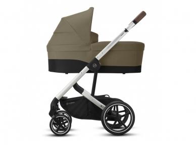 Universalus vežimėlio komplektas 2in1 Cybex Balios S Lux Soho Grey / Silver    3