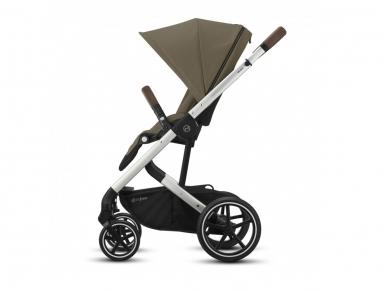 Universalus vežimėlio komplektas 2in1 Cybex Balios S Lux Soho Grey / Silver    4